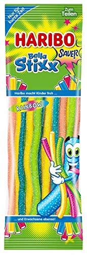 Haribo Balla Stixx Rainbow Saure Kandierung fruchtgummi 200g