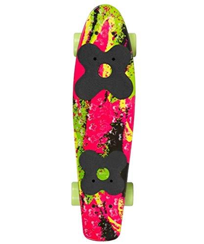 Choke Juicy Susi Elite Vinyl Skateboard Illusion pink-grün pink-grün, standard