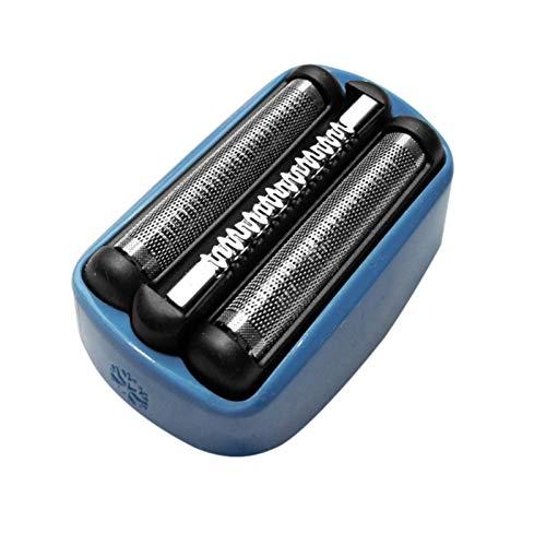 ZQYX Cabezal De Repuesto para Afeitadora Eléctrica para La Serie Braun 40B, con Pantalla De Aluminio De Repuesto, Afeitadora Eléctrica, Recortadora De Afeitadora, Cabezal De Limpieza con Micro Toques