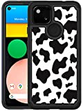 Glisten Google Pixel 4A Case 2020 [for 4G only] - Cow Skin Print Printed Designer Hybrid Case - Unique Heavy Duty Protection & Shockproof Case/Cover for Google Pixel 4A [Not for 5G Version]