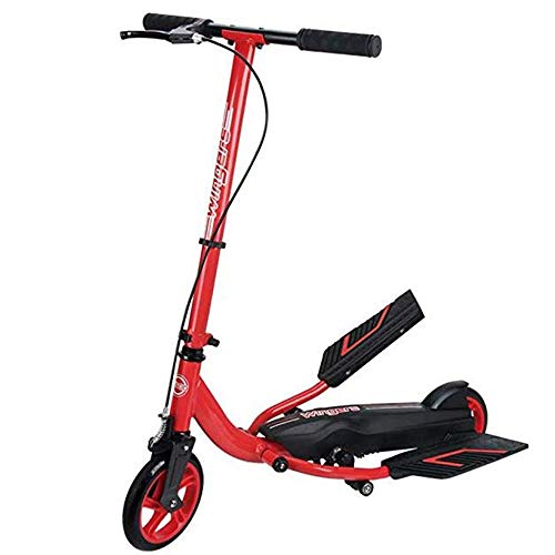 Scooters Stepper, Bike Red Boy and Girl 8 Years Old and Above - Load Weight 80kg