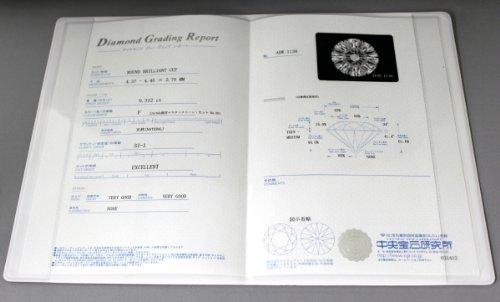 『[アネリディギンザ] ANELLIDIGINZA プラチナ900 ダイヤモンドリング 【0.18ctUP D VVS1 3EX-HC】【鑑定書付】 GRANATA 日本サイズ11号』の5枚目の画像