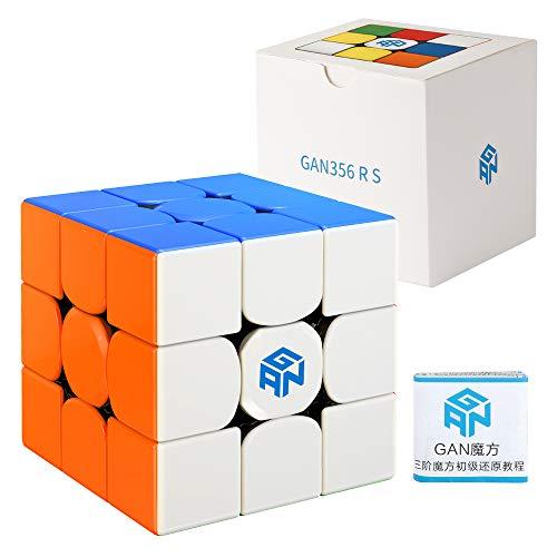 Coogam GAN 356 RS 3X3 Cubo de Velocidad Gans 356rs 3X3X3 Cubo Mágico GAN 356RS Cubo Rompecabezas Sistema GES V3