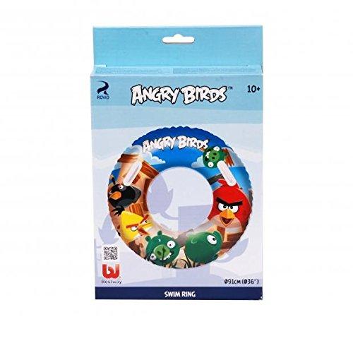 DC Bouee Boue Enfants Angry Birds 2 poignee - Diam 91cm - Piscine - 692