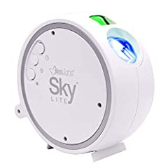 The SKY Lite instantly projects a field of drifting green stars against a transforming blue nebula cloud (Patent Protected). SKY Lite incorporates a direct diode Laser, precision glass optics and holographic technologies to create an otherworldly vis...