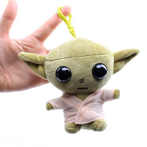 Star Wars Yoda Bebé Colgante De Felpa Juguete Maestro Muñeca Circundante Alienígena Decoración Estatua Modelo Juguete De Felpa