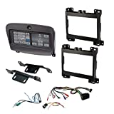 SCOSCHE ITCCR06B Integrated Touchscreen Car Stereo Installation Dash Kit for 2015-Up Dodge Challenger