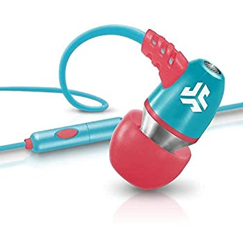 JLAB NEON-CORLTEAL-Box Audio NEON Metal in-Ear Earbuds with Universal Mic