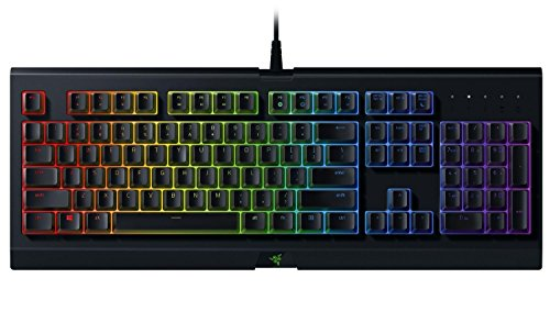 Razer Cynosa Chroma - Multi-color RGB Gaming keyboard - Individually Backlit Keys - Spill-Resistant Durable Design - RZ03-02260200-R3U1 (Renewed)