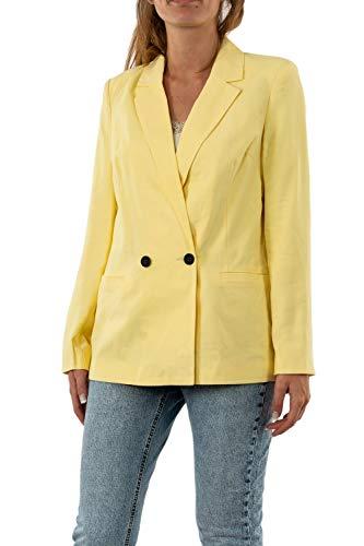 Vero Moda VMEMILY LS Blazer Color, Pale Banana, 42 para Mujer