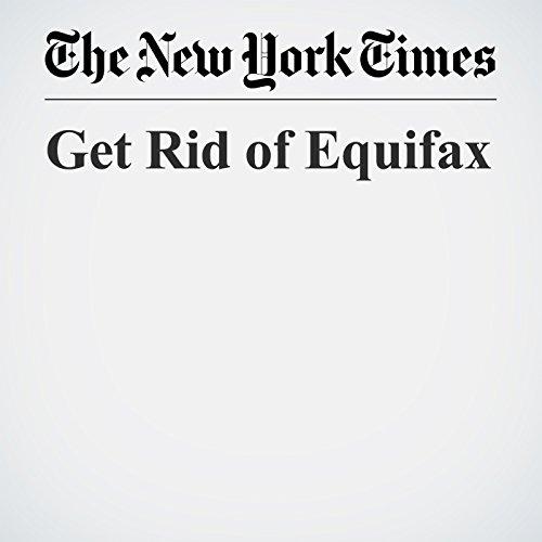 Get Rid of Equifax copertina
