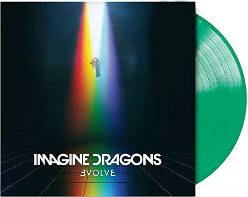 Evolve - Exclusive Limited Edition Translucent Green Colored Vinyl LP