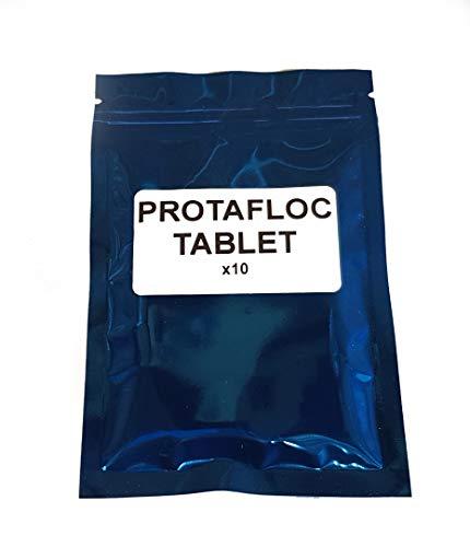 Protafloc/Whirlfloc (confezione da 10 compresse) – Bollitore Finings utilizzati per eliminare l'erba durante l'ebollizione della birra – Carrageena / Protofloc