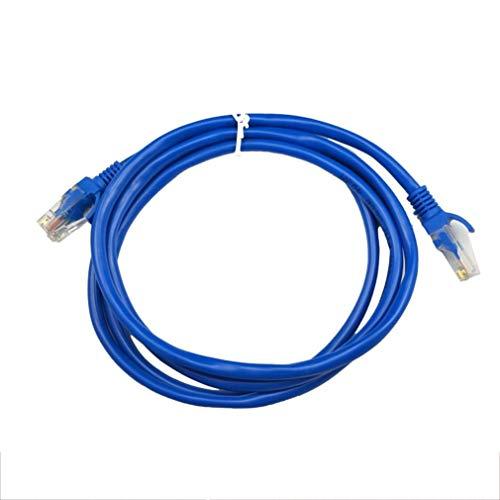 Bellaluee 100FT 5/10/15/20/25/30 / 50M CAT5 CAT5E Ethernet Internet RJ45 Cable LAN Cable Conector Macho Retícula