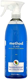 Method Blue Glass Cleaning Spray 828 ml (Pack of 4)