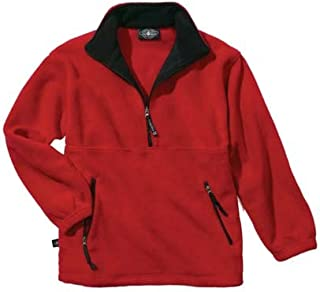Charles River Apparel The Summit Collection Adirondack Fleece Pullover Jacket from