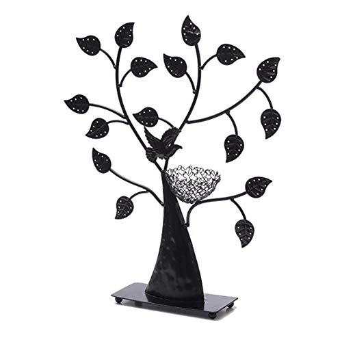 Schmuck Baum, Schmuck Display Stand, Ohrring Halter Armband Stand, Halskette Veranstalter Schmuck Display (Schwarz)