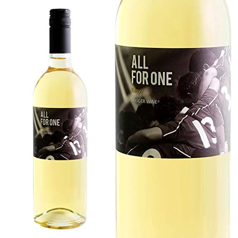 ストリップ結果解読する山梨ワイン 白 辛口 甲州 甲斐ラガーワイン 東晨洋酒 オールフォーワン 750ml