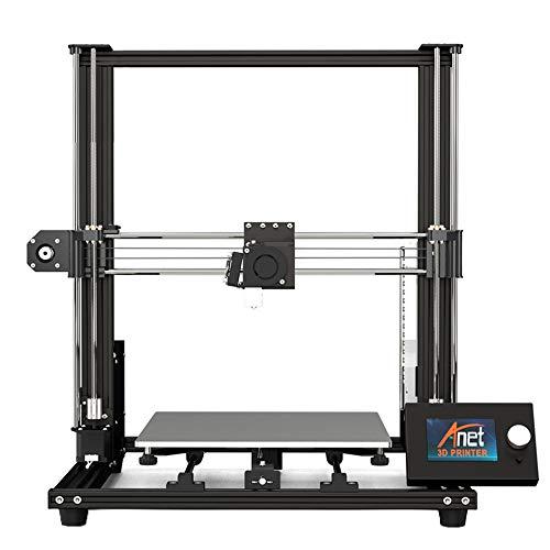 ZJSWC Imprimante 3D, précision de nivellement Automatique assistée par imprimante 3D 0.1MM Size Taille d'impression 300 * 300 * 350Mm, Fonctionne avec PLA, TPU, ABS, Hanches, Bois