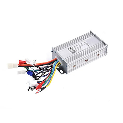 Drfeify Brushless Controller, 48V 500W Brushless Motor Controller 42V Low Voltage Protection for Electric Bicycle Scooter