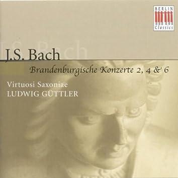 Johann Sebastian Bach: Brandenburg Concertos Nos. 2, 4, 6 (Virtuosi Saxoniae, Ludwig Güttler)
