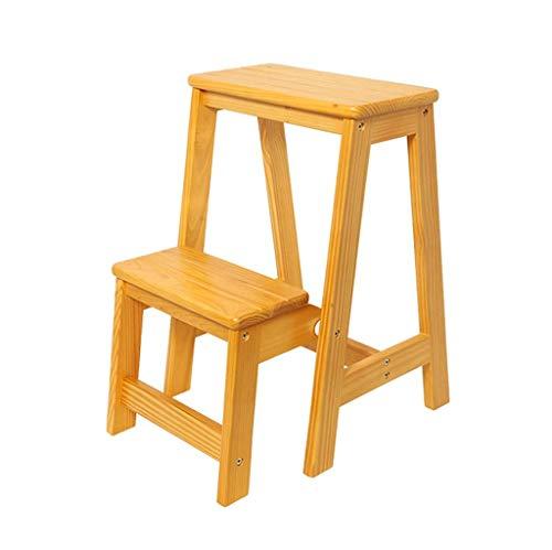 ZHJBD Furniture Stool / 2 niveaus, hout, bloemenplatform, voor buiten, voor de tuin, voor buiten, balkon, bedframe, plant 300 lb