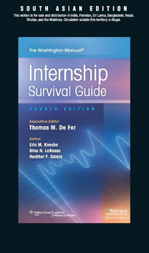The Washington Manual of Internship Survival Guide with Procedure Card