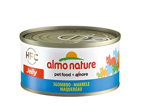 Almo Nature HFC Jelly kattenvoering - makreel 24x70 g