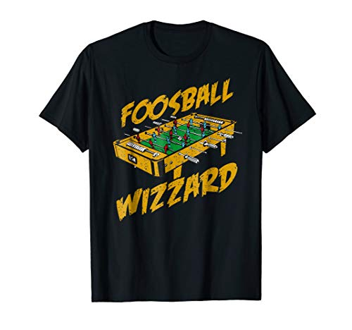 Foosball T-Shirt, Foosball Wizzard Gift