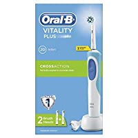 Oral-B Pro Vitality Plus Cross Action Electric Rechargeable Toothbrush by Oral-B [並行輸入品]