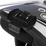 Tikafr Microphone Haut-Parleur Casque V4 / V6 interphone Clip Casque Universel pour...