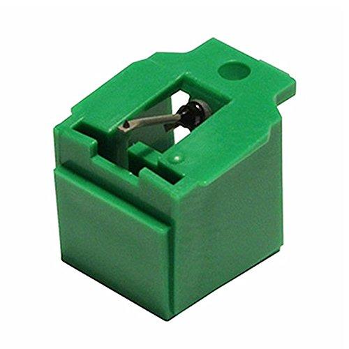 iBatt Puntina per giradischi, puntina fonografica cod. 325 56, taglio ellitico, compatibile AIWA AN11,PC82,RS82, audio technica