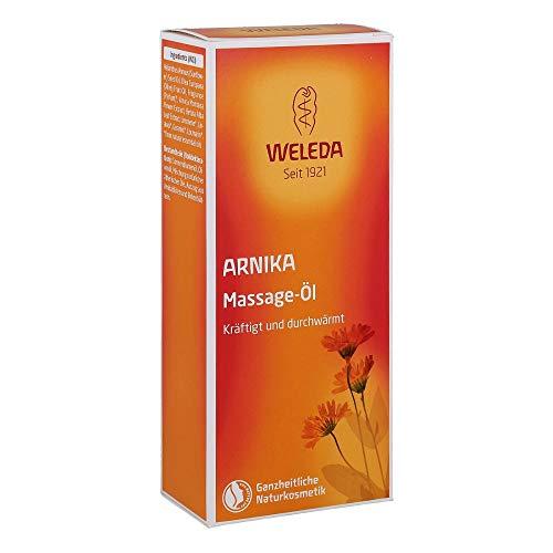 Weleda - huile de massage à l'arnica préparation et récupération sportives - 200 ml