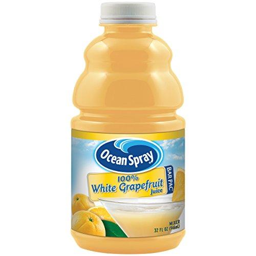 Ocean Spray 100% White Grapefruit Juice 32 ounces Pack of 12