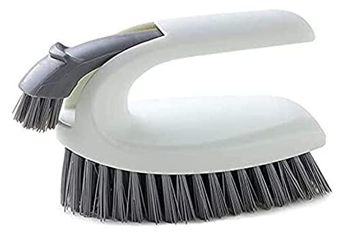 JJZXPJ Limpiador Cepillo lavandería Cepillo Limpieza Cepillo Multifuncional Registro Color Zapato Lavado lavandería Limpio artefactos Suaves cerdas de baño Piso descontaminación Cepillo (Color : 1pc)