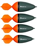 Fox Rage Predator HD Dart Slider Raubfischpose, Segelpose, Hechtpose, Pose in verschiedenen Größen, leucht orange, Gewicht:50g