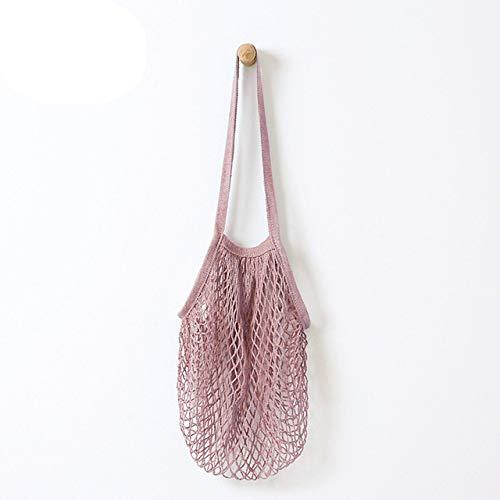 ZZBMKJ Mesh-Einkaufstasche Net Turtle Bag String-Einkaufstasche Atmungsaktiv Wiederverwendbar Hängend Küchenabfall Lebensmittelverpackung
