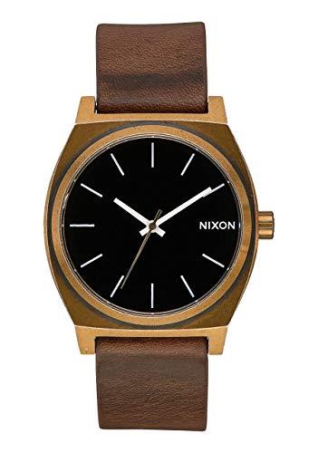 Nixon Reloj Analógico para Unisex Adultos de Cuarzo con Correa en Cuero A0453053-00