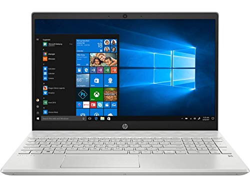 HP - PC Pavilion 15-cw1043nl Notebook, AMD Ryzen 5 3500U, RAM 8 GB, SSD 256 GB, Grafica AMD Radeon Vega 8, Windows 10 Home, Display FHD IPS Antiriflesso 15.6', Audio Bang&Olufsen, Fast Charge, Argento