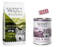 Semi-moist food for adult dogs Softer kibble with 18% moisture content.12kg 100% grain-free, with wholesome sweet potato With fresh lamb meat - tasty and well accepted Enriched with forest berries, roots and wild herbs Suitable for dogs with grain al...