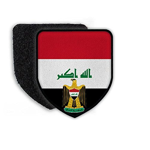 Copytec patch Irak Bagdad Fuad Masum Al-Abadi Koninkrijk iraki vlag Land Arabië Koerden wapenschild wapenschild #21918