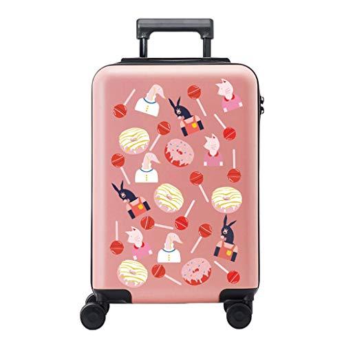 NJ Box kruiwagen – mooie box voor kruiwagen-laden, koffer voor mannen en vrouwen, yellow (Roze) - NJ-123