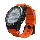LXZ GPS Compass Speedometer Sports Bluetooth Watch Hiking Multi-Sport Fitness Tracker Outdoor Waterproof Men and Women Smart Watch,C