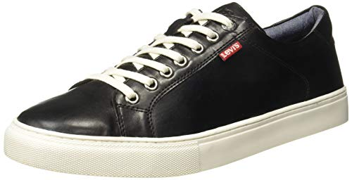 Levi's Men Exclusive Black Sneakers-8 UK (42 EU) (9 US) (38099-1606)