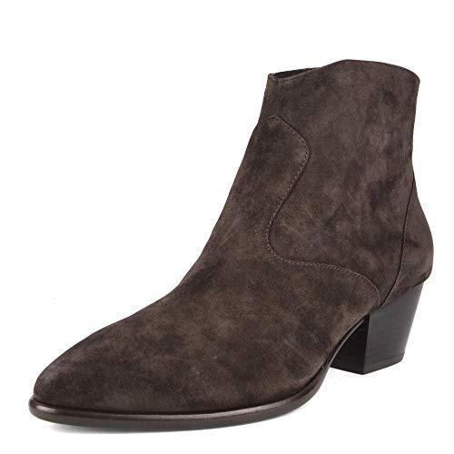 ASH Footwear Heidi Bis Braun Wildleder Stiefel - Damen 41 Braun
