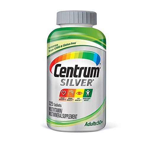 Centrum Silver Adults 50+ Multivitamins, 325 Tablets