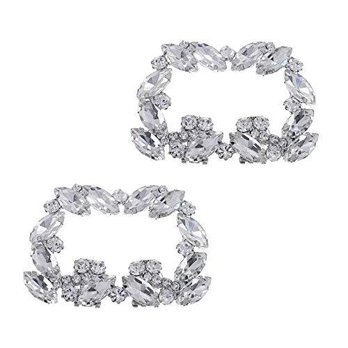 yotijar Pendientes de Boda Decorativos Pendientes de Boda de Plata Perla de Cristal