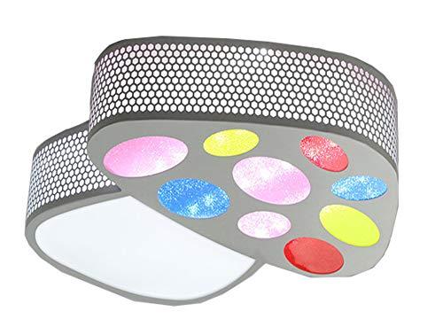 Natsen® LED Deckenlampe Kinder zimmer 18W Warmweiß Cartoon Lampe Mushroom Licht