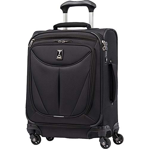 Travelpro Walkabout 3 19' International Expandable Carry On Spinner, Black