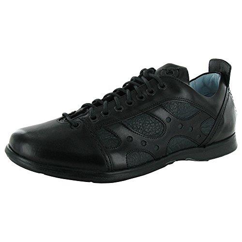 STEVEN by Steve Madden Mens Konrad Casual Walking Shoe, Black, US 11